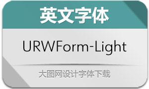 URWForm-Light(英文字体)