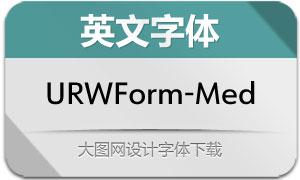 URWForm-Medium(英文字体)