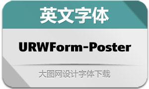 URWForm-Poster(英文字体)