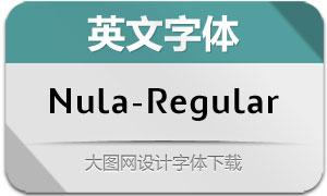Nula-Regular(英文字体)