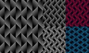 点状元素立体背景创意设计矢量素材