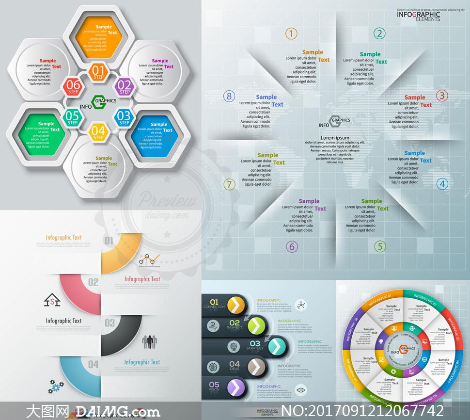关 键 词: 矢量素材矢量图设计素材创意设计设计元素信息图表流程