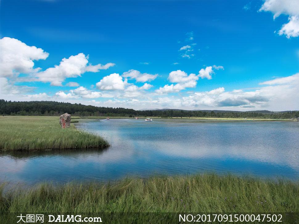 塞罕坝七星湖美丽风光摄影图片素材下载 关 键 词: 塞罕坝七星湖旅游