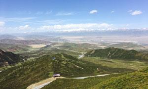 青海门源美丽景观摄影图片