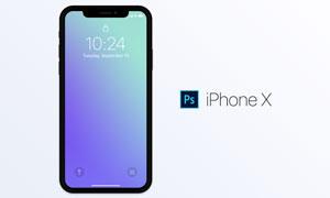 2017APPLEiPhoneX产品贴图模板