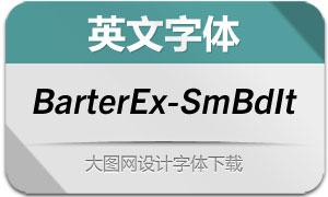 BarterExchange-SmBdIt(英文字体)