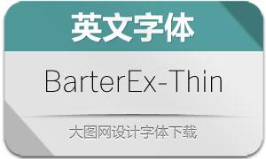 BarterExchange-Thin(英文字体)