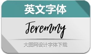 Jeremmy-Regular(英文字体)