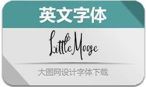 LittleMoose(英文字体)