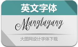 Manglayang(英文字体)