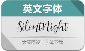 SilentNight(英文字体)