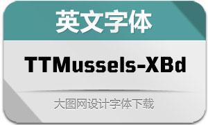 TTMussels-ExtraBold(英文字体)