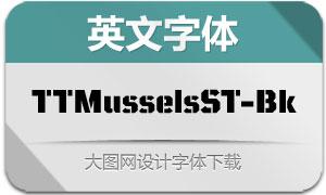 TTMusselsStencil-Black(英文字体)