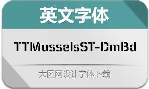 TTMusselsStencil-DemiBold(字体)