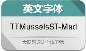 TTMusselsStencil-Med(英文字体)