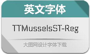TTMusselsStencil-Regular(字体)