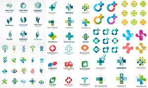 医疗卫生主题标志矢量素材集合V08