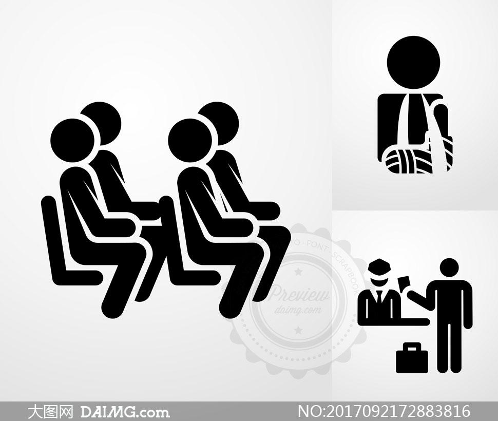 关 键 词: 矢量素材矢量图设计素材创意设计标志图标坐着座位观众
