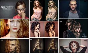 50款人物肖像复古怀旧效果LR预设