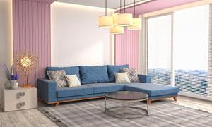 客厅房间家具摆放效果摄影高清图片