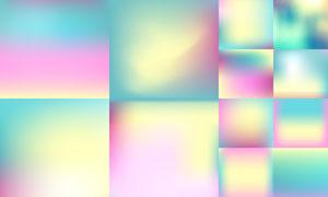 朦胧模糊效果背景创意矢量素材V04