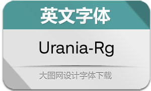 Urania-Regular(英文字体)