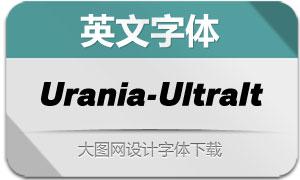 Urania-UltraIt(英文字体)