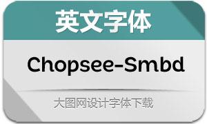 Chopsee-SemiBold(英文字体)