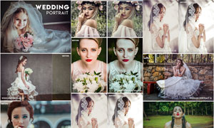 13款婚礼人像古典艺术效果LR预设