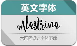 Alastrina(英文字体)