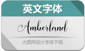 AmberlandScript(英文字体)