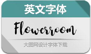 FlowerroomScript(英文字体)