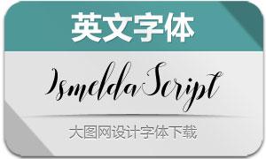 IsmeldaScript(英文字体)