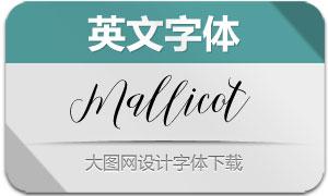MallicotScript(英文字体)