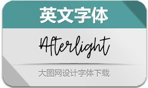 Afterlight-Regular(英文字体)