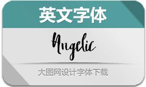 Angelic(英文字体)