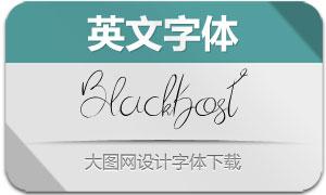 BlackKost(英文字体)