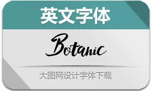 Botanic(英文字体)