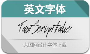 FastScriptItalic(英文字体)