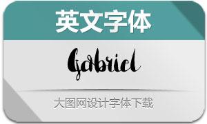 Gabriel(英文字体)