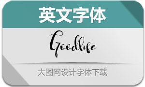 Goodlife(英文字体)
