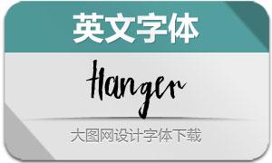Hanger(英文字体)