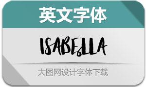 Isabella(英文字体)