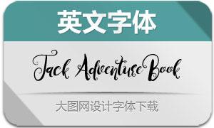 JackAdventureBook(英文字体)
