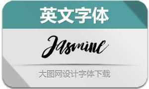 Jasmine(英文字体)