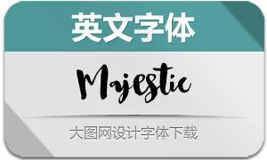 Majestic(英文字体)