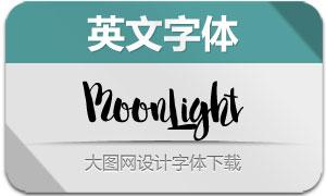 MoonLight系列三款英文字体