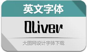 Oliver(英文字体)