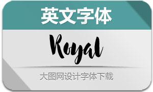 Royal(英文字体)