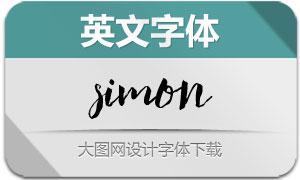 Simon(英文字体)